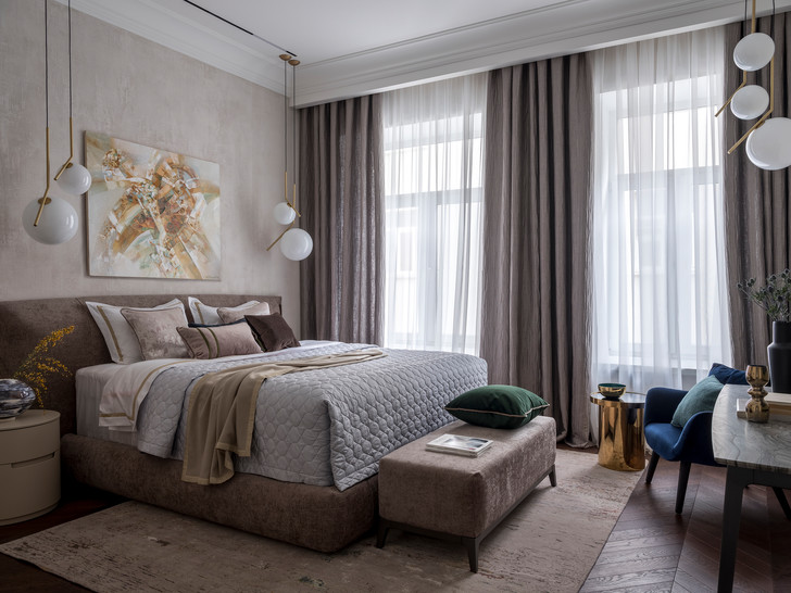 Лофт и ар-деко: квартира 124 м² в Москве (фото 7)