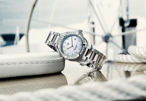 Мария Шарапова и Кэмерон Диас представили новые часы Aquaracer Lady от TAG Heuer