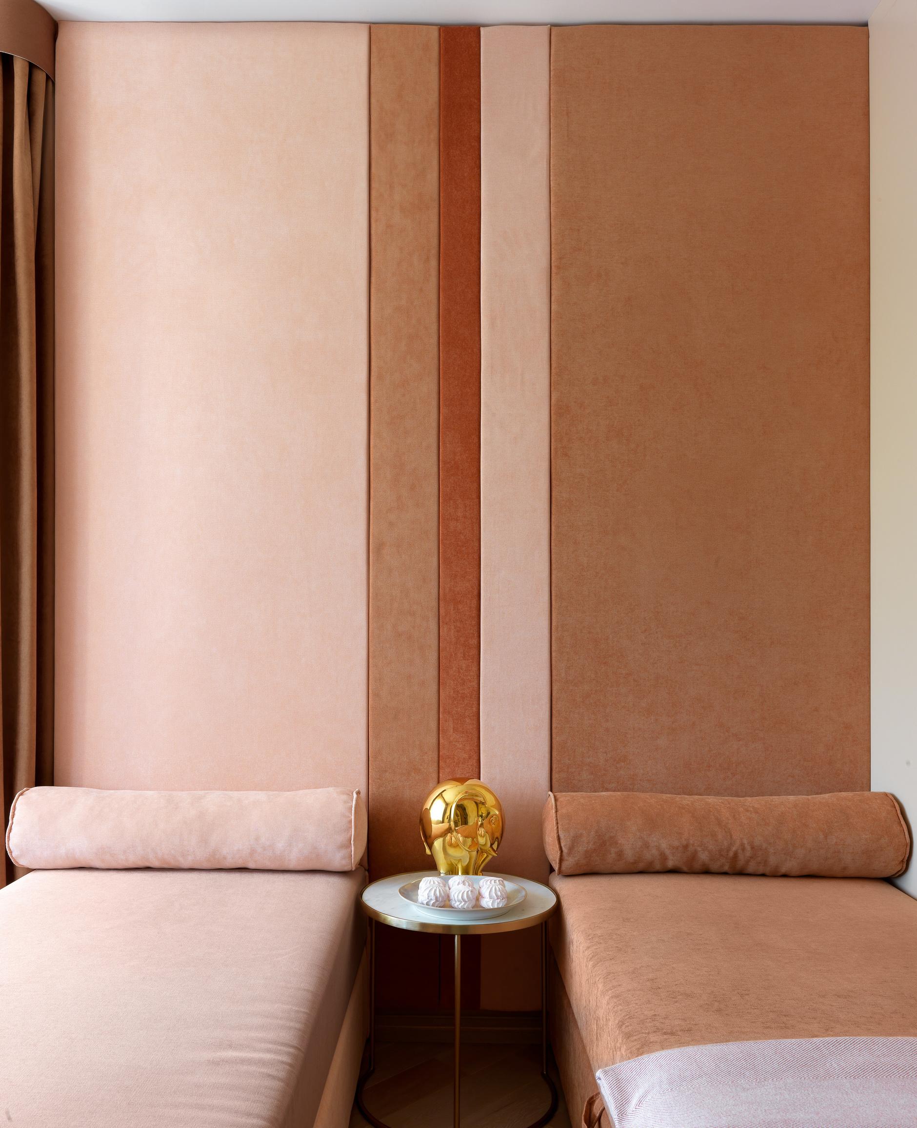 Текстильные панели в спальне: 10 примеров (галерея 0, фото 2)
