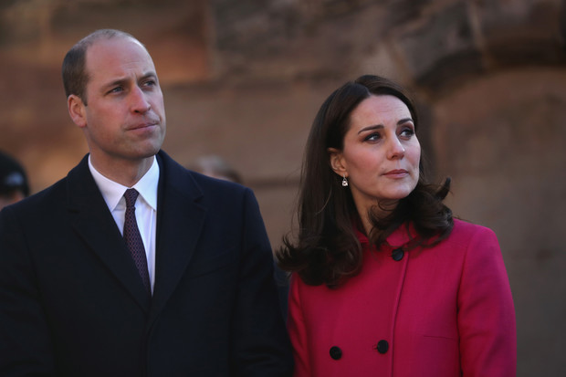 Принц Уильям и Кейт Миддлтон в Ковентри (фото 1)