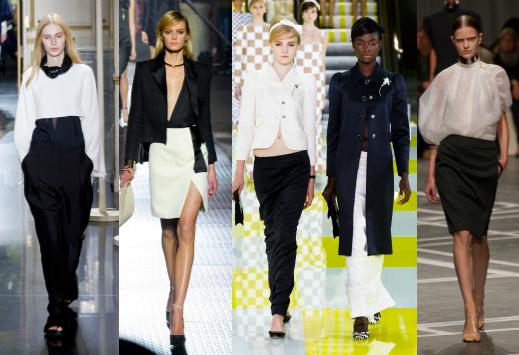 Celine, Lanvin, Louis Vuitton и Givenchy