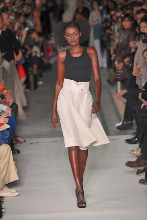 Показ Lefranc Ferrant коллекции сезона Осень-зима 2009-2010 года haute couture - www.elle.ru - Подиум - фото 88073