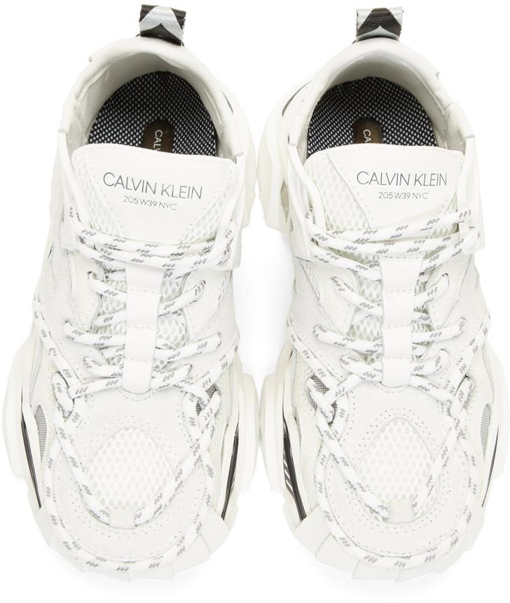 Кроссовки недели: Calvin Klein 205W39NYC White Strike 205 (фото 3)