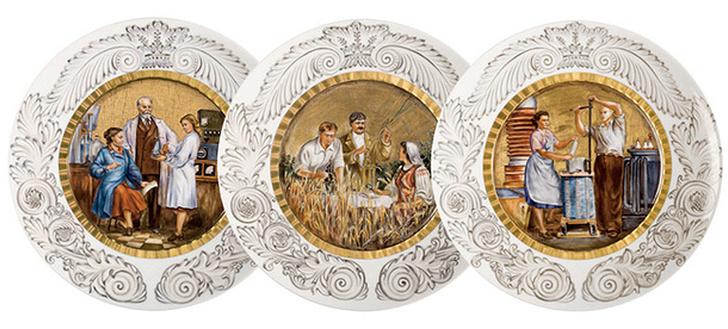 Декоративные тарелки, Klimenkoff