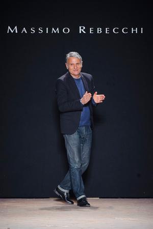 Показ Massimo Rebecchi коллекции сезона Осень-зима 2013-2014 года Prêt-à-porter - www.elle.ru - Подиум - фото 528034