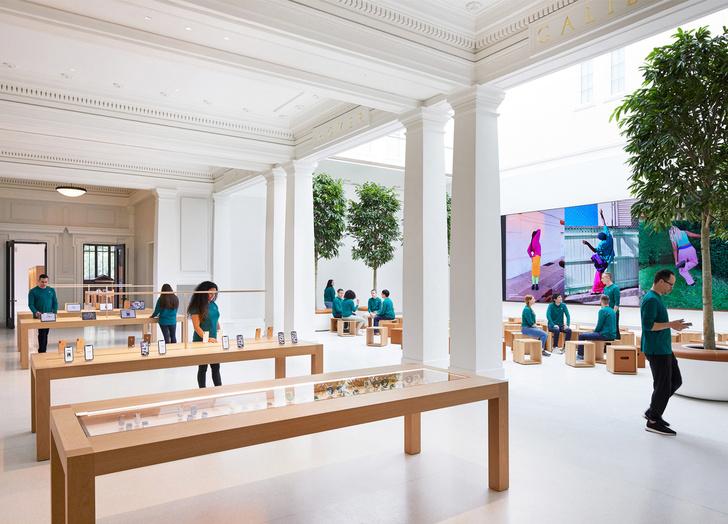 Новый Apple Store по проекту Foster + Partners в Вашингтоне (фото 7)