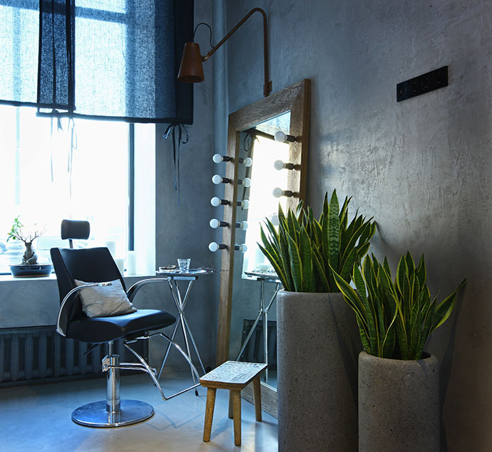 Проект архитектора Натальи Белоноговой — салон красоты Domenico Castello