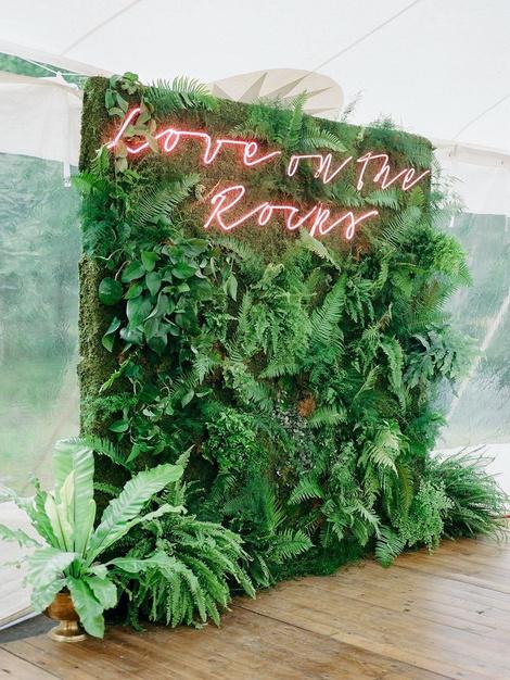 Зелень в декоре свадьбы: 7 вдохновляющих идей (фото 12)