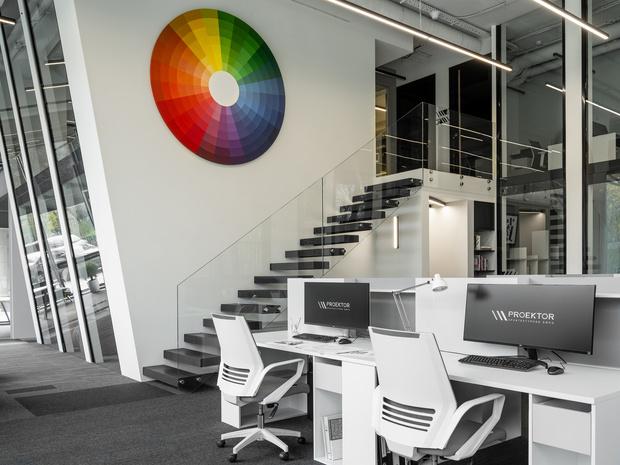 Яркий офис архитектурного бюро Proektor (фото 0)