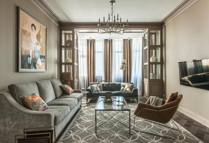 Квартира 150 м²: проект Надежды Чак (фото 10)