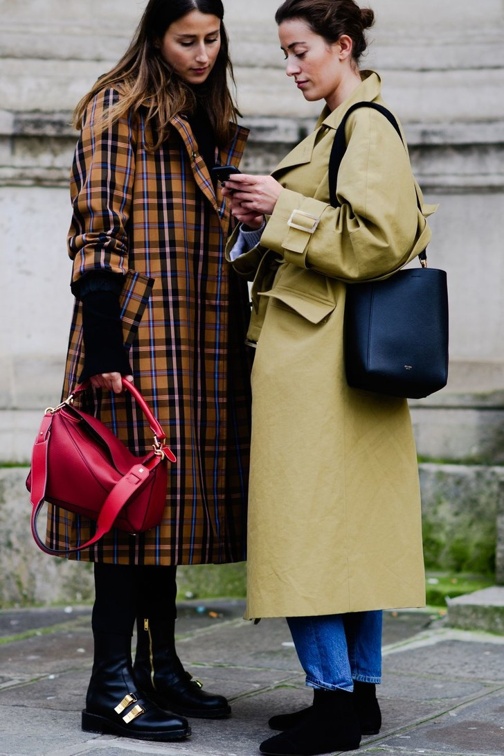 Самые модные люди на улицах Парижа (фото 15)
