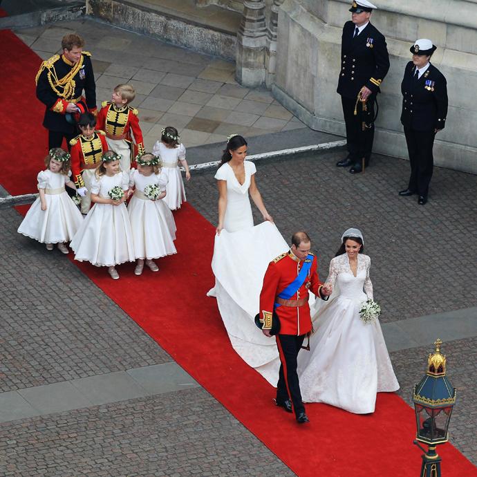 Принц Уильям и Кейт Миддлтон свадьба