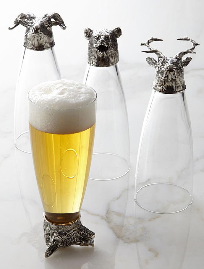 Бокалы для пива из коллекции Animale, Arte Italica, www.reywood.ru