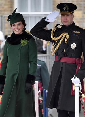 Кейт Миддлтон и принц Уильям на параде в честь Дня святого Патрика (фото 5.2)