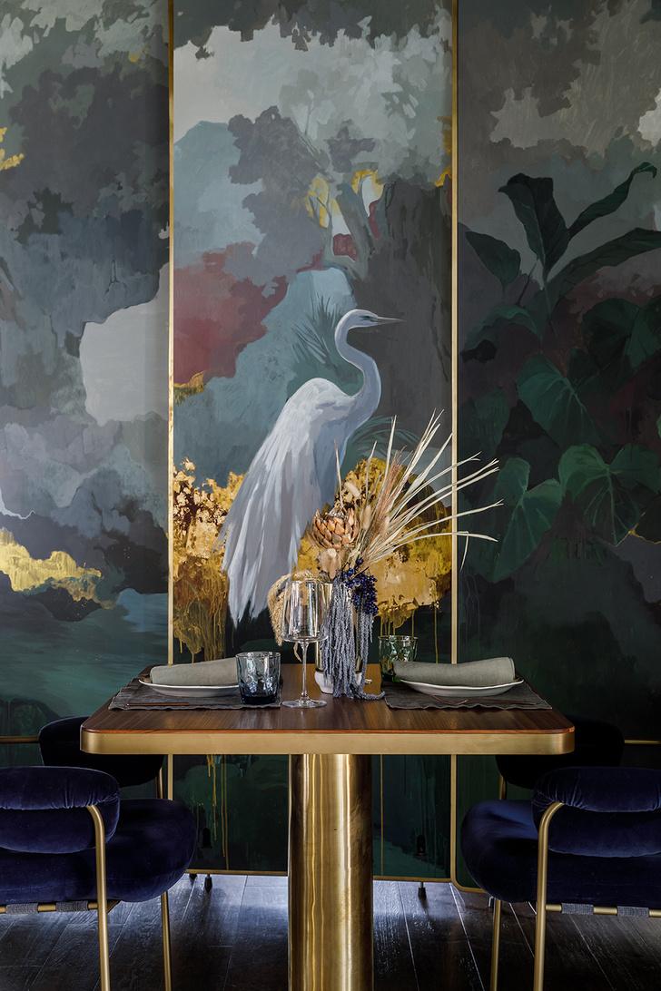 Ресторан с росписями под Белгородом (фото 14)