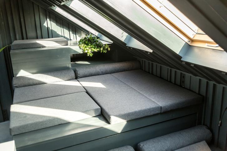 Под самой крышей: комнаты в мансардах (фото 8)