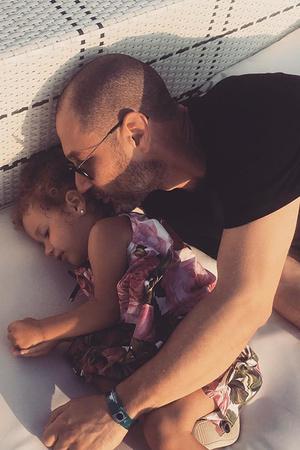 Лев Гейхман с дочерью