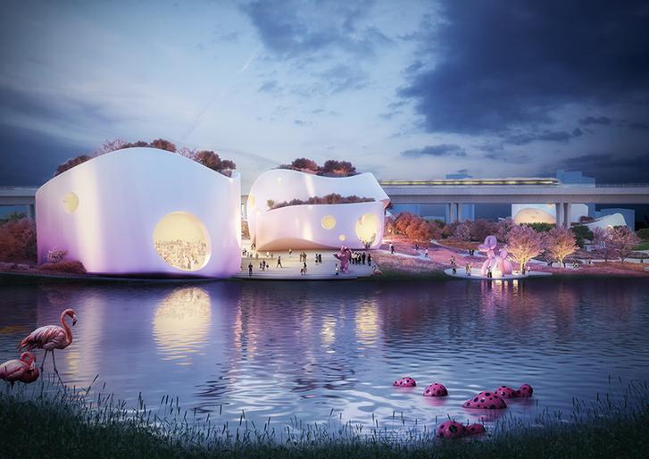 Музей-вишневый сад по проекту MVRDV (фото 4)