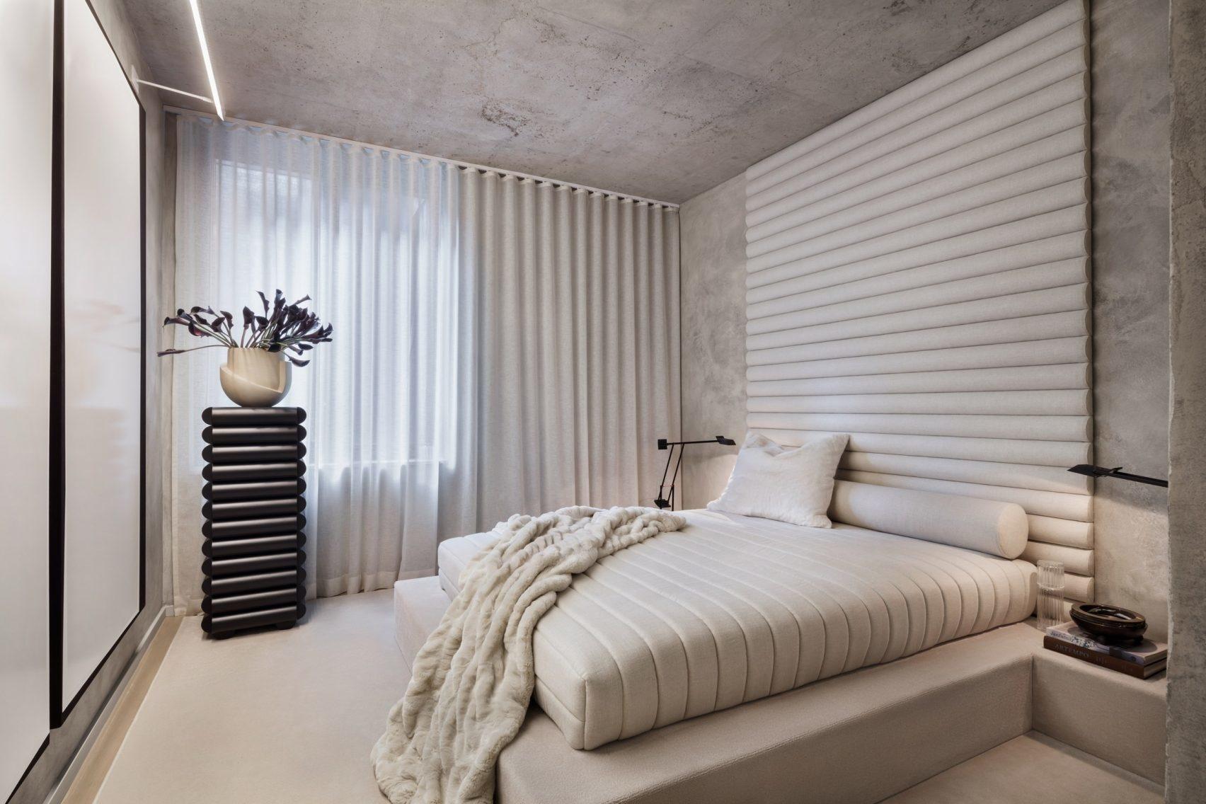 Текстильные панели в спальне: 10 примеров (галерея 0, фото 1)