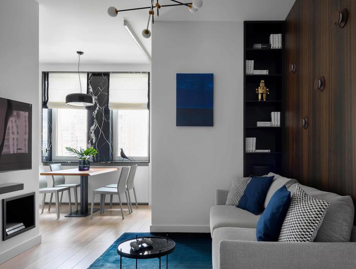 Первый план: все, что нужно знать о планировке маленьких квартир (фото 42)