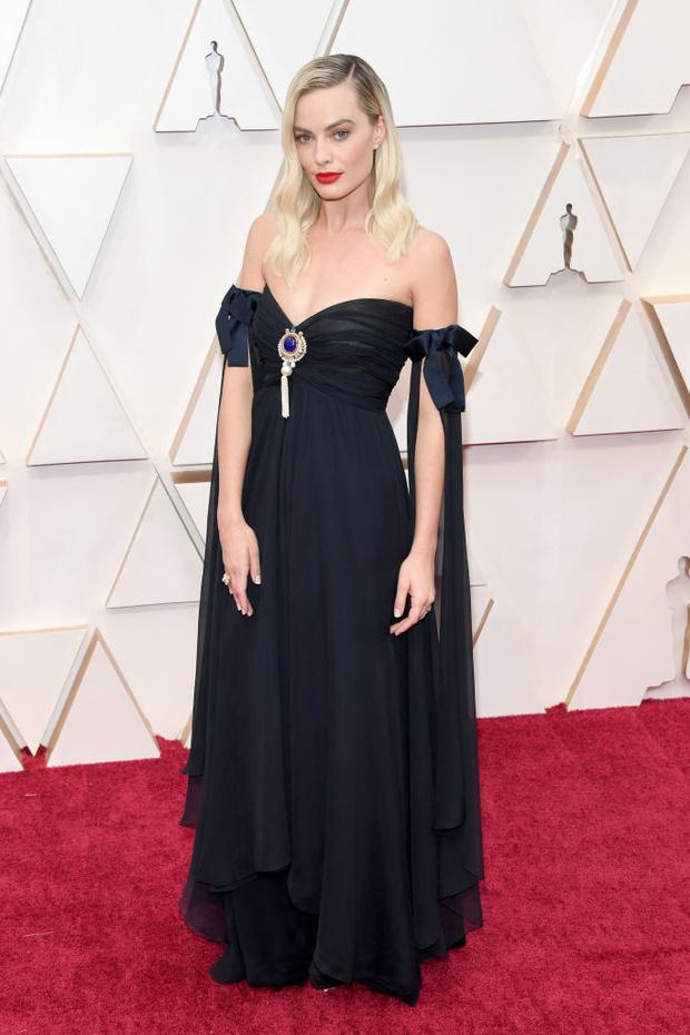 Готическая и романтическая принцесса Марго Робби на «Оскар-2020» (фото 1)