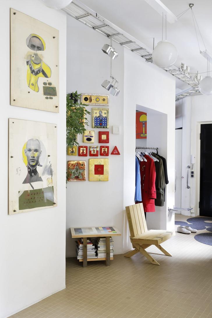 Квартира-студия творческой пары в Хельсинки (фото 18)