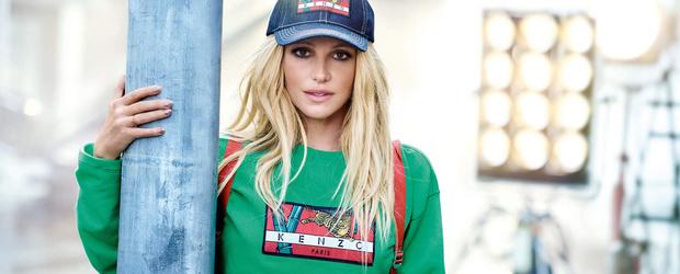 Бритни Спирс снялась в рекламной кампании KENZO (фото 1)