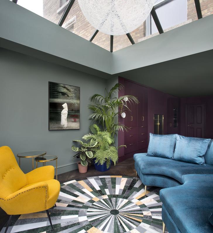 Color-blocking: интерьер дома в Дублине (фото 7)