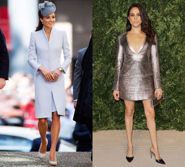 Кейт Миддлтон VS Меган Маркл: любимые женщины британских принцев фото [2]