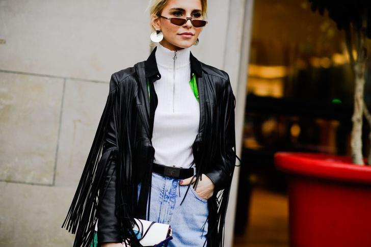 Самые модные люди на улицах Парижа (фото 19)