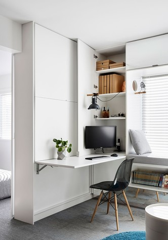 Минималистичная квартира 35 м² в Мельбурне (фото 6.1)