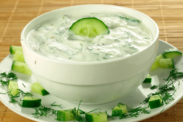 Греческий соус «Дзадзики»