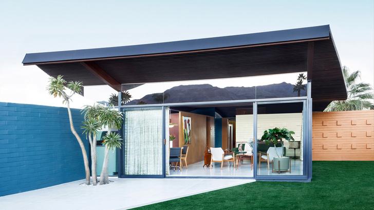 Модернистский дом-«волна» в Калифорнии (фото 2)