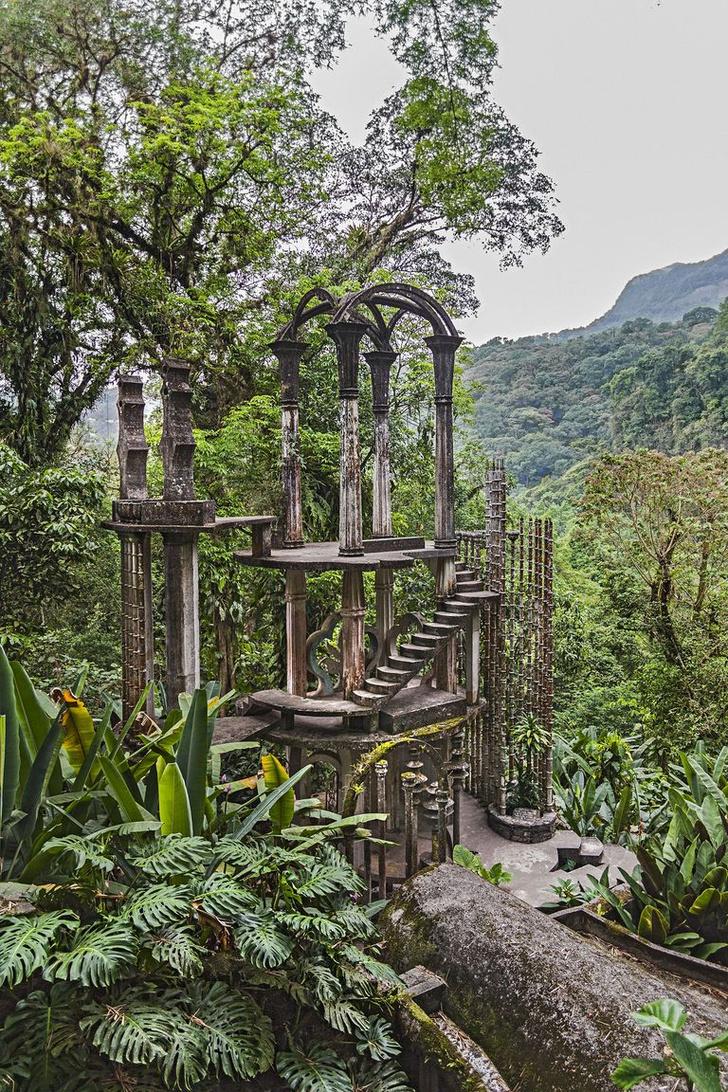 Las Pozas: cюрреалистический парк в мексиканских джунглях (фото 0)