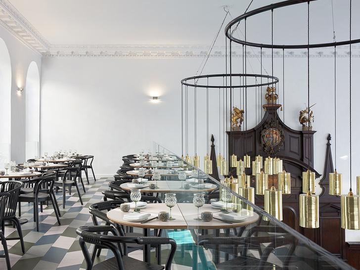 Лондонский ресторан в церкви по проекту Michaelis Boyd (фото 5)