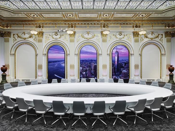 Как выглядят интерьеры Нью-Йоркской фондовой биржи (фото 3)
