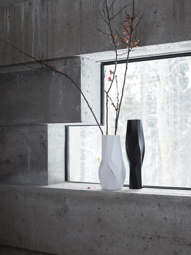 Футуристичные вазы от Zaha Hadid Design и Rosenthal (фото 5)