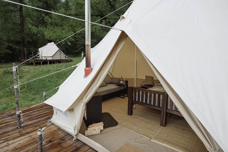 Новый романтизм: палаточный отель «Лес и море» в Калязине и на Алтае (фото 11)