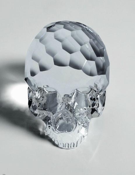 Декоративный череп The Hamlet Dilemma, Seletti, магазины Design Boom, www.seletti.it
