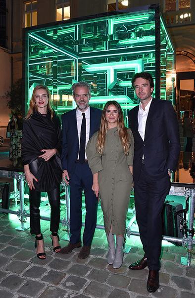 Стелла Маккартни, Сальма Хайек и Наталья Водянова на приеме в честь запуска Fashion Tech Lab | галерея [2] фото [2]