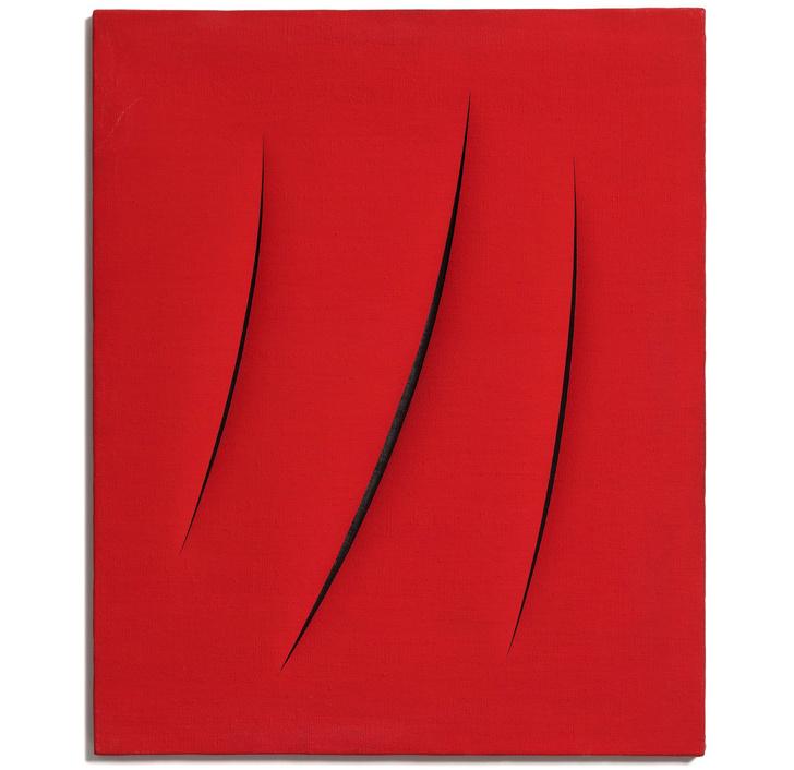 Лучо Фонтана: выставка в Мультимедиа Арт Музее (фото 0)