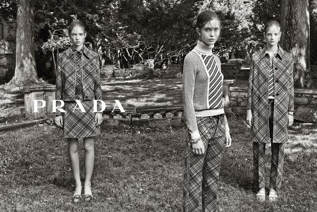 Рекламная кампания Prada Resort 2015
