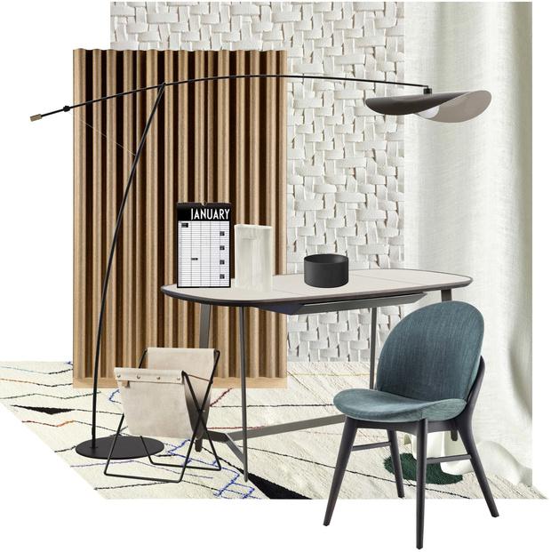 Выбор ELLE DECORATION: мебель и аксессуары для кабинета (фото 6)