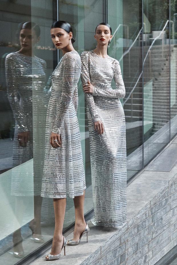 16 платьев из новой свадебной коллекции  Naeem Khan (фото 8)