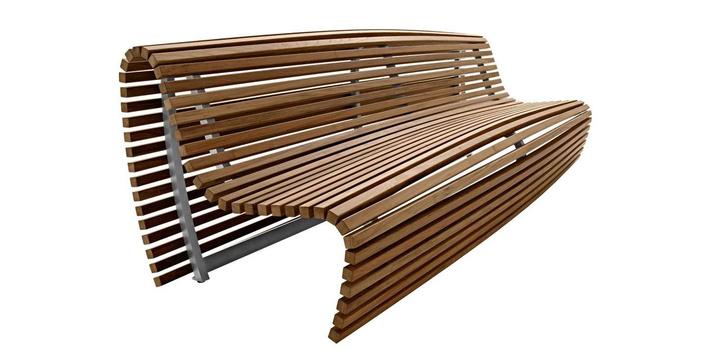 Хорошо сидим: 15 дизайнерских скамеек для дачи (фото 8)