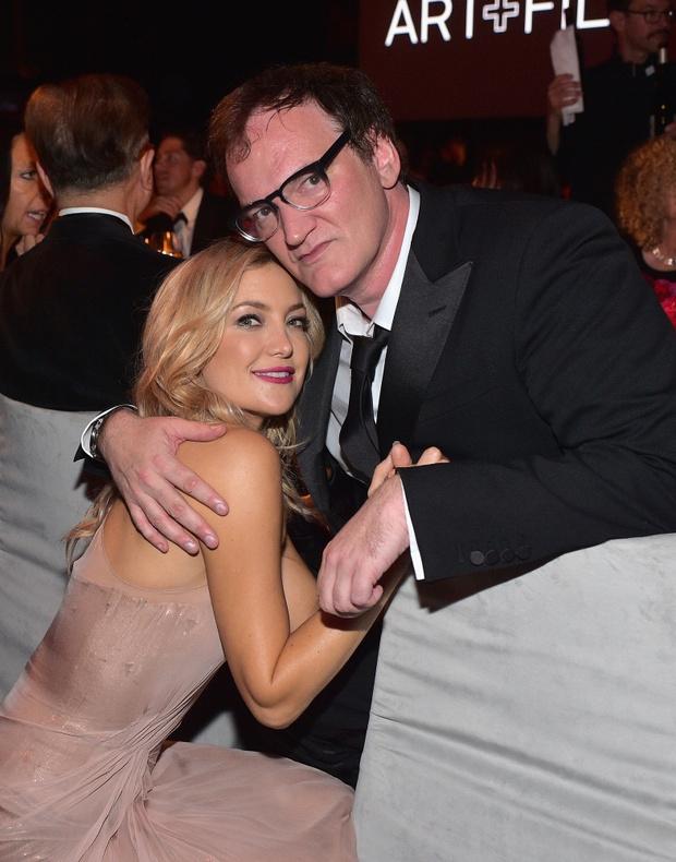 Кейт Хадсон и Квентин Тарантино: фото 2014