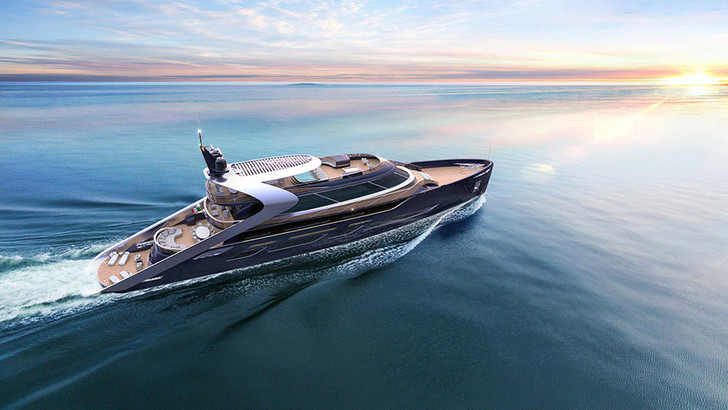 Яхта Attitude, дизайн Карло Коломбо