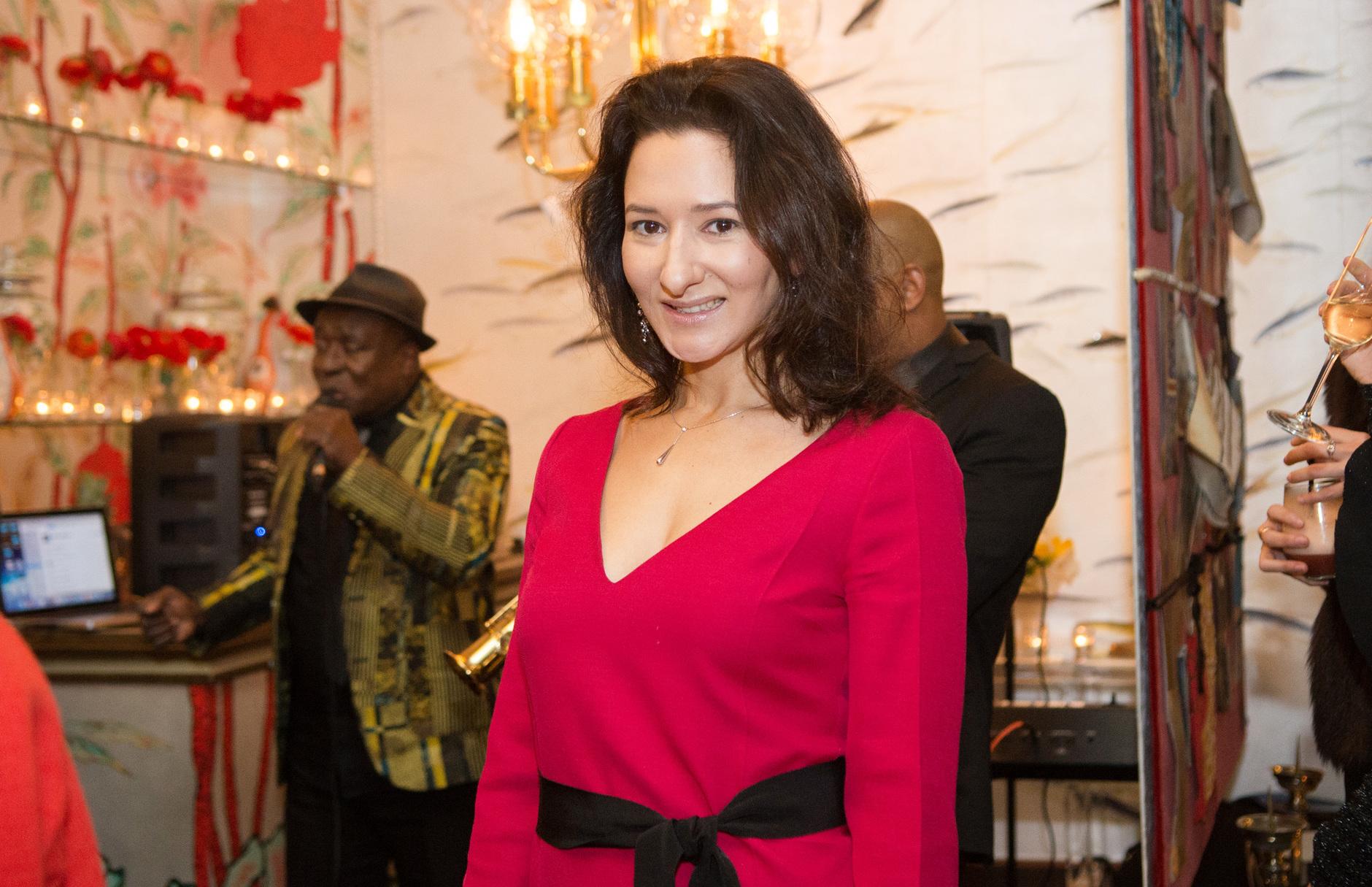 Вечеринка ELLE Decoration и de Gournay в Париже (галерея 0, фото 2)