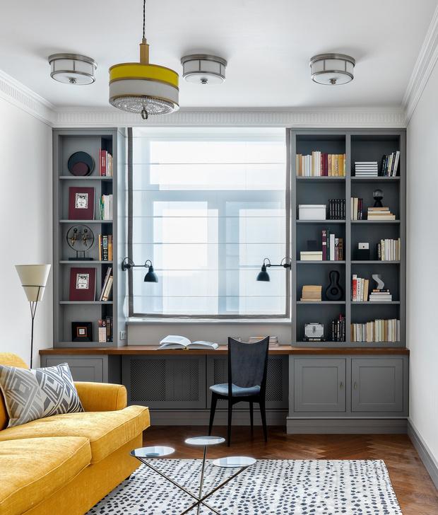 Яркая квартира 80 м²: проект Нади Зотовой (фото 25)