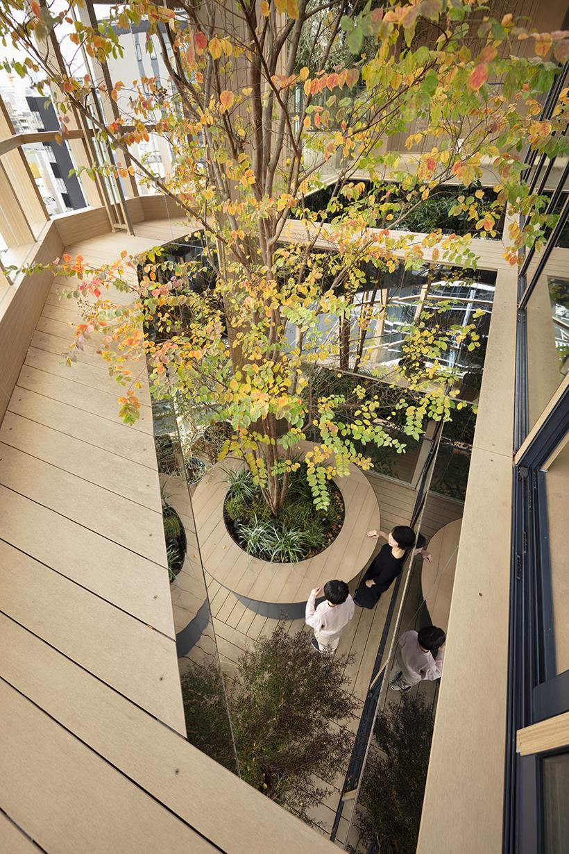 Nendo + Ikawaya Architects: офисное здание в Токио (галерея 16, фото 5)